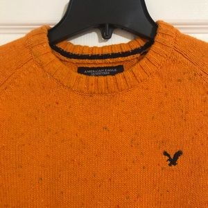 American Eagle Outfitters Sweaters - Burnt Orange Knit Crewneck Sweater